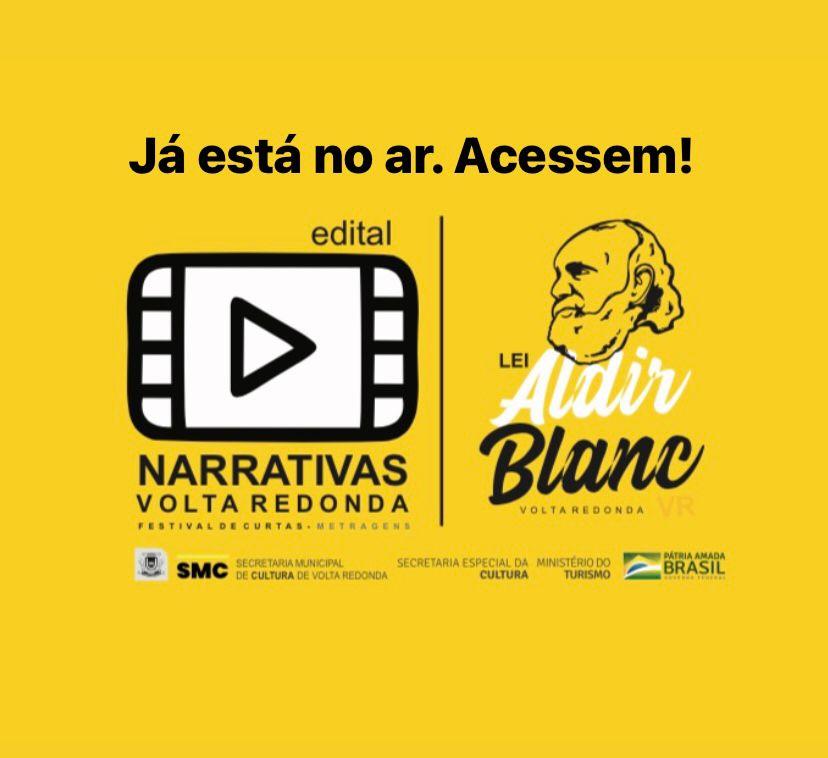 Secretaria Municipal de Cultura lança edital 'Narrativas de Volta Redonda'